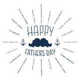 Happy Fathers Day. Handwritten background Stock Photography
