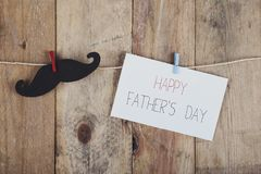 Happy fathers day. Congratulation for father`s day royalty free stock photo