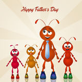 Happy fathers day Stock Images