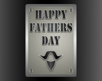 Happy Fathers day. Royalty Free Stock Photography