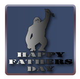 Happy Fathers day. Stock Image