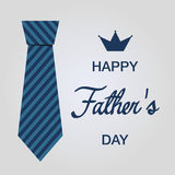 Happy fathers day. Isolated background available in editable file Royalty Free Illustration