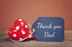 Happy fathers day. Lovely greeting card - fathers day royalty free stock image