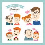 Happy Fathers Day Royalty Free Stock Photos