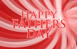 Happy fathers day red background Royalty Free Stock Images