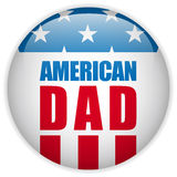 Happy Fathers Day USA American Dad. Vector - Happy Fathers Day USA American Dad Stock Photos