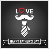 Happy fathers day vintage retro style background, vector eps10 Stock Photos