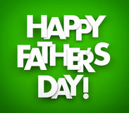 Happy fathers day Royalty Free Stock Photo