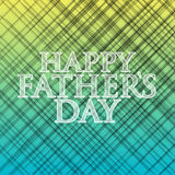 Happy fathers day yellow and blue background Stock Photos