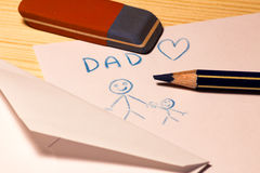 Happy Fathers's Day Stock Photos