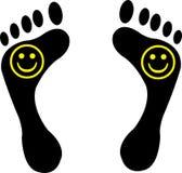 Happy feet Stock Image