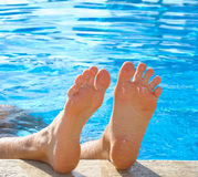 Happy feet Royalty Free Stock Photo