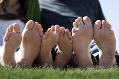 Happy Feet Stock Photography