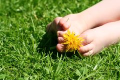 Happy feet Royalty Free Stock Photo