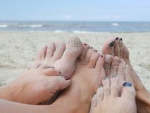 Happy feet Royalty Free Stock Photos