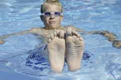 Happy feet royalty free stock photography