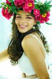 Happy female Stock Images