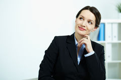 Happy female Stock Photo