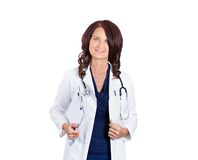 Happy female doctor Royalty Free Stock Photo