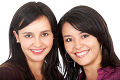 Happy female friends Stock Photography
