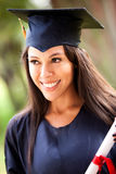 Happy female graduate Royalty Free Stock Images