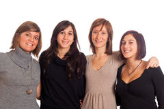 Happy Female Group Royalty Free Stock Image