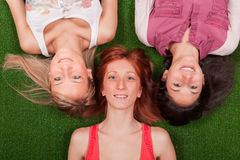 Happy Female Group Stock Photos