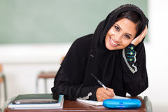 Middle eastern student Royalty Free Stock Photos
