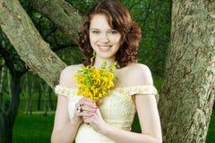 Happy female portrait Royalty Free Stock Photography
