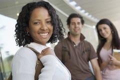 Happy Female Student Royalty Free Stock Image