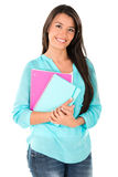 Happy female student Royalty Free Stock Photos