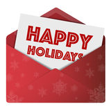 Happy festive holidays Royalty Free Stock Photos