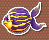 Happy fish Stock Photography