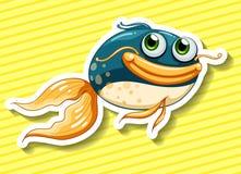 Happy fish Stock Images