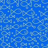 Happy fish swimming Stock Photography