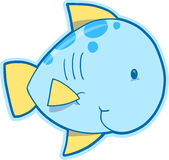 Happy Fish Vector Royalty Free Stock Images