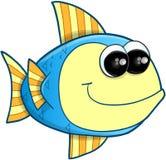 Happy Fish Vector Royalty Free Stock Photo