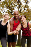 Happy Fitness Stock Photography