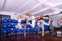 Happy fitness Stock Photo