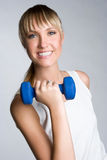 Happy Fitness Girl Royalty Free Stock Photography