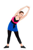 Happy fitness girl Royalty Free Stock Images
