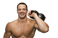 Happy Fitness model Stock Photos