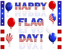 Happy Flag Day. Stock Photos