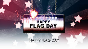 Happy Flag day Stock Photography