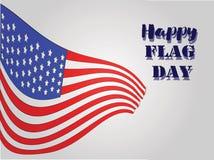 Happy Flag Day 2 vector illustration