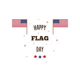 Happy Flag Day. Vector illustration. Happy Flag Day. Greeting. Vector illustration Stock Photo