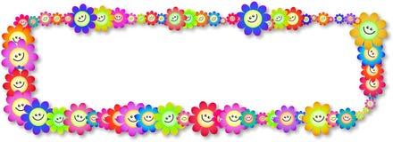 Happy Flower Banner Stock Image