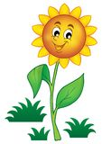 Happy flower theme image 1 Stock Photography