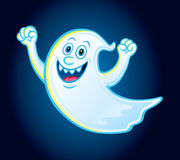Happy Flying Ghost Royalty Free Stock Image