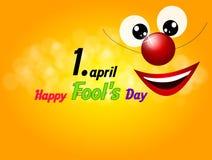 Happy Fool's Day Stock Image